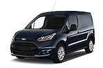 Front three quarter view of a 2014 Ford Transit Connect Trend 5 Door Minivan 2WD