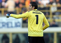 Bologna's Francesco Antonioli during their italian serie A soccer match at Dall'Ara Stadium in Bologna , Italy , February 21 , 2009 - Photo: Prater/Insidefoto ©