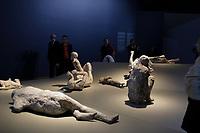 Pompei exhibit at Montreal Museum of Fine Arts.<br /> <br /> Photo : Pierre Roussel - Agence Quebec Presse<br /> <br /> <br /> <br /> <br /> <br /> <br /> <br /> <br /> <br /> <br /> <br /> .