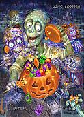 Liz,STILL LIFE STILLEBEN, NATURALEZA MORTA, LizDillon, paintings+++++,USHCLD0336A,#I#, EVERYDAY ,halloween