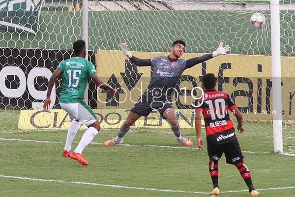 Campinas (SP), 20/01/2021 - Guarani-Vitória - Marcelo comemora gol do Guarani. Partida entre Guarani e Vitória válida pela 36ª rodada do Campeonato Brasileiro da Série B, no estádio Brinco de Ouro em Campinas, interior de São Paulo, nesta quarta-feira (20).