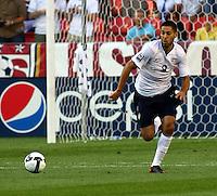 Clint Dempsey in the US Men's National Team vs El Salvador Men's National Team World Cup Qualifier at Rio Tinto Stadium in Salt LakeCity, Utah on September 5, 2009