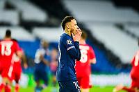 13th April 2021; Parc de Princes, Paris, France; UEFA Champions League football, quarter-final; Paris Saint Germain versus Bayern Munich;   Neymar Jr (PSG) after missing a good scoring chance