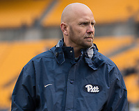 Pitt offensive coordinator Matt Canada. The Pitt Panthers defeated the Syracuse Orange 76-61 at Heinz Field in Pittsburgh, Pennsylvania on November 26, 2016.
