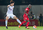 Hong Kong vs China PR during their FIFA World Cup Qualifiers 2015 on November 17, 2015 at the Mong Kok stadium in Hong Kong, China. Photo by Victor Fraile / Power Sport Images