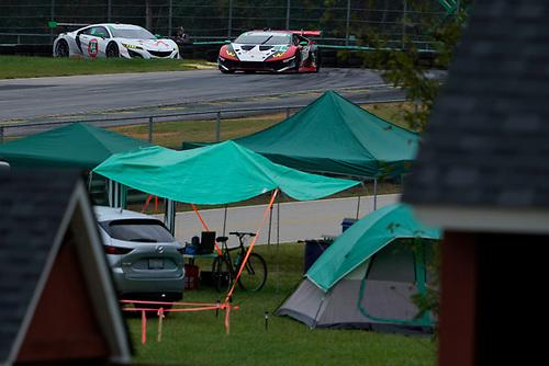 #1: Paul Miller Racing Lamborghini Huracan GT3, GTD: Madison Snow, Bryan Sellers, #44: Magnus with Archangel Acura NSX GT3, GTD: John Potter, Andy Lally