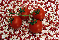 Modificazione genetica sui pomodori. Genetic modification on tomatoes...
