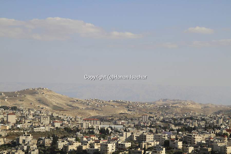 Bethlehem, a view of Beit Sahour, site of the Shepherds' Fields