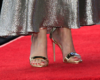 LOS ANGELES - JAN 8:  Gillian Anderson Shoe detail at the Gillian Anderson Star Ceremony on the Hollywood Walk of Fame on January 8, 2018 in Los Angeles, CA