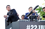Jonah Hill and Channing Tatum attends The Columbia Pictures' 22 JUMP STREET Premiere held at The Regency Village Theatre in Westwood, California on June 10,2014                                                                               © 2014 Hollywood Press Agency