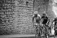 Bjorn Leukemans (BEL/Wanty-Groupe Gobert) leading the way<br /> <br /> GP Jef Scherens 2015