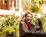 October 26, 2017. Raleigh, North Carolina.<br /> <br /> NC First Lady Kristin Coopers spoke to the crowd at the garden dedication.<br /> <br /> A new garden designed by Ben Skelton containing native Plants For Birds was dedicated at the North Carolina Executive Mansion.