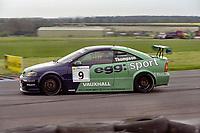 2001 British Touring Car Championship. #9 James Thompson (GBR). Egg Sport. Vauxhall Astra Coupé.