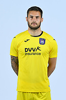 30th July 2020, Turbize, Belgium;   Thomas Didillon<br />  goalkeeper of Anderlecht pictured during the team photo shoot of RSC Anderlecht prior the Jupiler Pro league football season 2020 - 2021 at Tubize training Grounds.