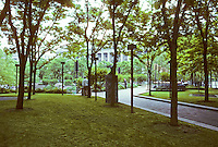Washington D.C. : Pershing Park, corner of Pennsylvania Ave. &15th. Photo '91.