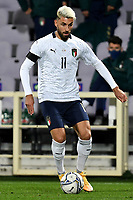 Vincenzo Grifo of Italy in action during the friendly football match between Italy and Moldova at Artemio Franchi Stadium in Firenze (Italy), October, 7th 2020. Photo Andrea Staccioli/ Insidefoto