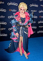 "LOS ANGELES, CA: 18, 2020: Nina West at the world premiere of ""Onward"" at the El Capitan Theatre.<br /> Picture: Paul Smith/Featureflash"