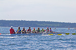 Port Townsend, Rat Island Regatta, rowers, Friendship; racing, Sound Rowers, Rat Island Rowing Club, Puget Sound, Olympic Peninsula, Washington State, water sports, rowing, kayaking, competition,