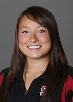 STANFORD, CA - OCTOBER 28:  Kimiko Urata of the Stanford Cardinal synchronized swimming team poses for a headshot on October 28, 2009 in Stanford, California.