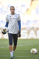 warm up  of Lorenzo Andreacci of Brescia <br /> during the Serie A football match between SS Lazio  and Brescia Calcio at stadio Olimpico in Roma (Italy), July 29th, 2020. Play resumes behind closed doors following the outbreak of the coronavirus disease. <br /> Photo Antonietta Baldassarre / Insidefoto