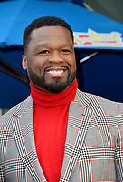 Curtis 50 Cent Jackson Star Ceremony
