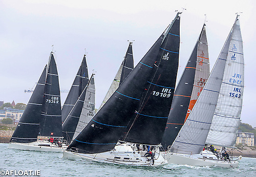The inaugural ISORA Training Race 2021 last weekend reinforced the feeling that the best training for offshore racing is going offshore racing. Photo: Afloat.ie/David O'Brien