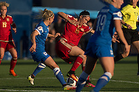 Spain's Silvia Meseguer during the match of  European Women's Championship 2017 at Leganes, between Spain and Finland. September 20, 2016. (ALTERPHOTOS/Rodrigo Jimenez) NORTEPHOTO