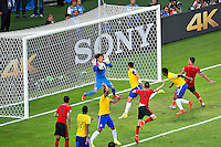 Fortaleza, Brazil - Tuesday, June 17, 2014: Mexico and Brazil played to a 0-0 draw during World Cup group play at Estádio Castelão.<br /> <br /> 17/06/2014/MEXSPORT/OSVALDO AGUILAR<br /> <br /> Estadio: Castelao, Fortaleza