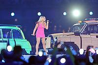 Spice Girls.Emma Bunton aka Baby Spice .Londra 12/08/2012 Olympic Stadium.London 2012 Olympic Games Closing Ceremony.Olimpiadi Londra 2012 Cerimonia d chiusura.Foto Insidefoto Giovanni Minozzi.