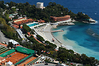 16th April 2021; Roquebrune-Cap-Martin, France;  General view of the Monte Carlo Country Club  during the Rolex Monte Carlo Masters