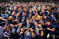 Esultanza squadra con coppa <br /> Paris 24/07/2020 Stade de France <br /> Calcio Finale Coppa di Francia <br /> Paris Saint Germain vs Saint Etienne <br /> Photo Federico Pestellini/Panoramic/insidefoto <br /> ITALY ONLY