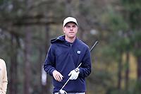 PINEHURST, NC - MARCH 02: Ryan Gerard of the University of North Carolina waits to tee off on the 18th hole at Pinehurst No. 2 on March 02, 2021 in Pinehurst, North Carolina.