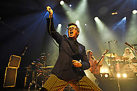 LONDON, ENGLAND - OCTOBER 9: Rick Astley and Blossoms performing 'The Smiths' at The Forum, London on October 9, 2021<br /> CAP/MAR<br /> ©MAR/Capital Pictures