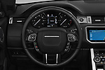 Car pictures of steering wheel view of a 2017 Land Rover Range-Rover-Evoque HSE-Dynamic 2 Door SUV Steering Wheel