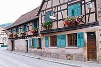 The Marc Kreydenweiss house in Andlau, Alsace Domaine Marc Kreydenweiss, Andlau, Alsace, France