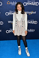 """LOS ANGELES, CA: 18, 2020: Alison Fernandez at the world premiere of """"Onward"""" at the El Capitan Theatre.<br /> Picture: Paul Smith/Featureflash"""