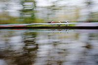 U23 World Champion Wout Van Aert (BEL/Vastgoedservice - Golden Palace) leading the race with Laurens Sweeck (BEL/Corendon-Kwadro) & Michael Vanthourenhout (BEL/Sunweb-Napoleon Games) in tow<br /> <br /> Superprestige Gavere 2014