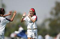 U15 GNT vs Irvine Strikers, 2008 Nike Women's Friendlies, Friday, Aug. 22, 2008.