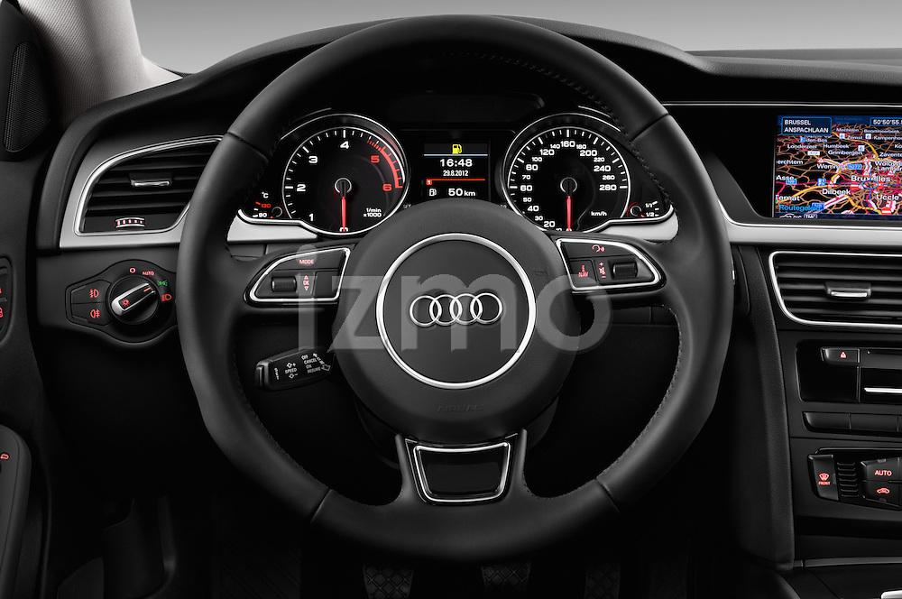 Steering wheel view of a 2014 Audi A5 Sportback AMBIENTE 5 Door Hatchback 2WD