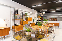 BNPS.co.uk (01202) 558833<br /> Pic: WillDax/BNPS<br /> <br /> There's a Restored Retro furniture shop too<br /> <br /> A complex of ten small independent businesses that are not paying rent or business rates could hold the answer for saving the British high street.<br /> <br /> Kingland is an ambitious initiative aimed at breathing new life into the struggling town centre in Poole, Dorset, which people said had become like a 'ghost town'.<br /> <br /> The new development has been billed as a 'boutique shopping experience' and the owners of the small independents do not have to pay any rent or business rates for the first two years.<br /> <br /> The shops offer a diverse range with a fishmonger, zero waste grocery store, custom surfboard maker, coffee shop, gallery, restored furniture shop, fragrance shop, plant and interiors shop, design studio and a gin bar and shop.