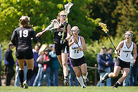 20 June 2006: Daphne Patterson during Stanford's 17-9 loss to Northwestern in the first round of the 2006 NCAA Lacrosse Championships in Evanston, IL. Stanford made it to the NCAA's for the first time in school history.