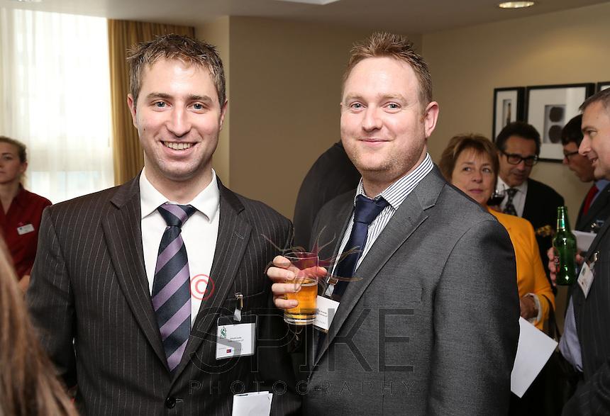 Edward Leslie (left) and Craig Brownlie both of Potter Clarkson