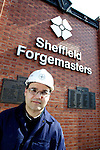 Pix: Shaun Flannery/shaunflanneryphotography.com...COPYRIGHT PICTURE>>SHAUN FLANNERY>01302-570814>>07778315553>>..19th April 2011..............Sheffield Forgemasters International..Dr Jesus Talamantes-Silva, Director of Research at Forgemasters and Professor at the University of Sheffield.
