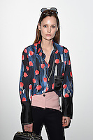 Charlotte De Carle<br /> at the Eudon Choi AW17 show as part of London Fashion Week AW17 at 180 Strand, London.<br /> <br /> <br /> ©Ash Knotek  D3230  17/02/2017