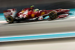 Felipe Massa of Spain and Scuderia Ferrari drives during the Abu Dhabi Formula One Grand Prix 2013 at the Yas Marina Circuit on November 3, 2013 in Abu Dhabi, United Arab Emirates. Photo by Victor Fraile / The Power of Sport Images