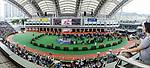 A general view of the parade ring during Hong Kong Racing at Sha Tin Racecourse on October 01, 2018 in Hong Kong, Hong Kong. Photo by Yu Chun Christopher Wong / Power Sport Images