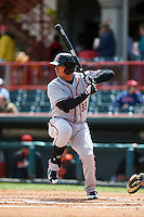 Richmond Flying Squirrels first baseman Ricky Oropesa (33) at bat during a game against the Erie Seawolves on May 20, 2015 at Jerry Uht Park in Erie, Pennsylvania.  Erie defeated Richmond 5-2.  (Mike Janes/Four Seam Images)