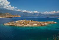 Island off the coast of Kastellorizo, Greece