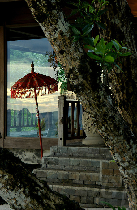 ENTRANCE TO THE SPA IN PALAU, MICRONESIA
