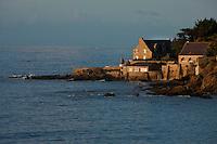 Europe/France/Bretagne/56/Morbihan/Billiers: Domaine de Rochevilaine à la pointe de Pen-Lan